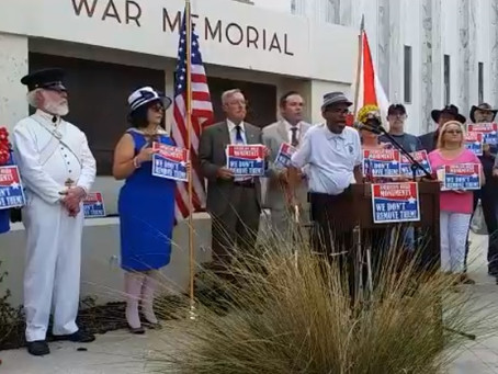 Press Release:  New Poll:  Keep Confederate Monument Where it is!