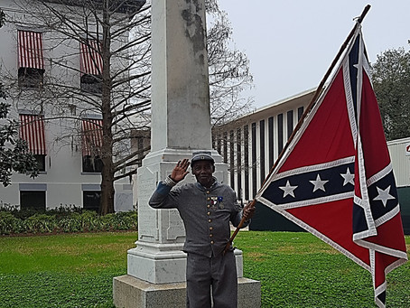 PRESS RELEASE:  Southern Heritage Group Supports Slavery monument Bill in Black History Month
