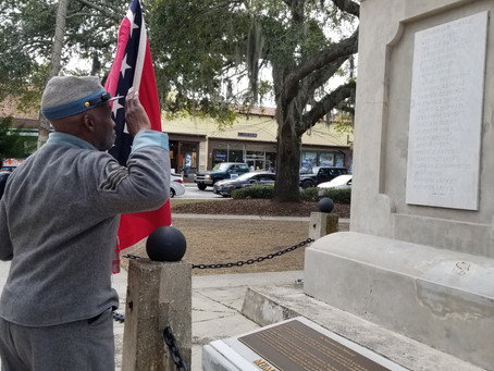 PRESS RELEASE:  KING DAY MARCH: CIVIL RIGHTS LEADER CHALLENGES COSA TO LEAVE MEMORIAL ALONE