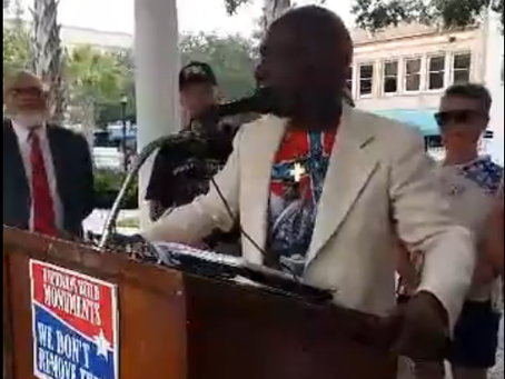 """Press Release:  New Manatee Voter Poll - Restore the Confederate Memorial Now """"Take it Down&quo"""