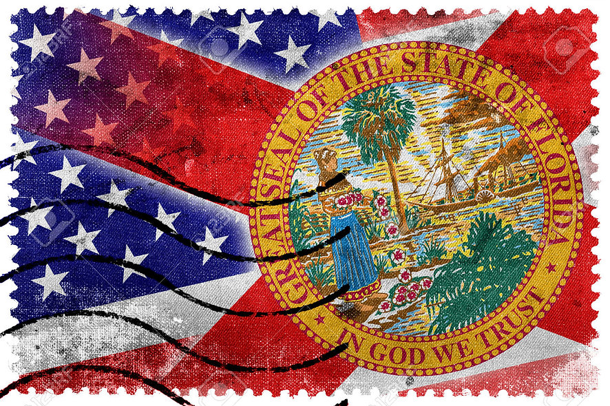 34876537-USA-and-Florida-State-Flag-old-postage-stamp-Stock-Photo.jpg