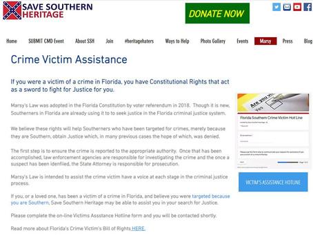 Southern Crime Victim Hotline Established