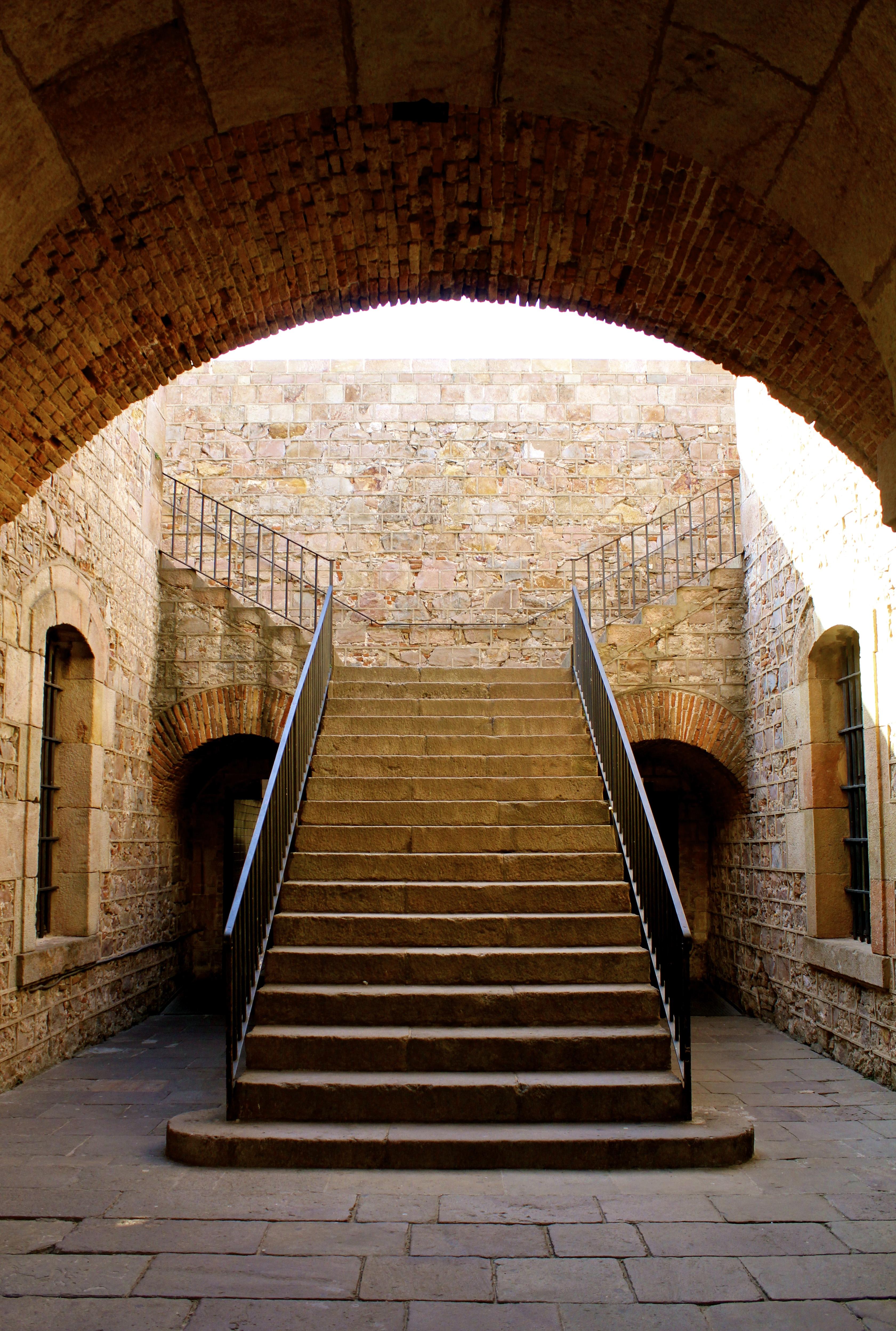 Montjuic Castle, Barcelona, Spain