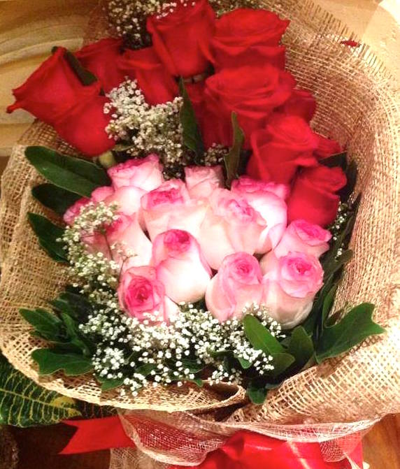 Bouquet of Bangkok roses