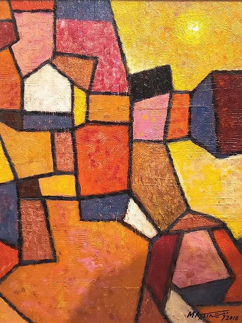 Space Puzzle by Rodney Martinez