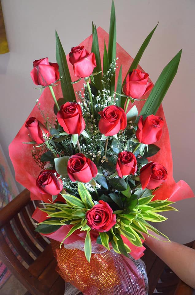 Bouquet of imported Bangkok roses