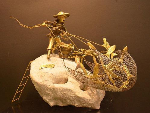 """Fish Harvest Series ( Solo )"" by Ronald Castrillo"