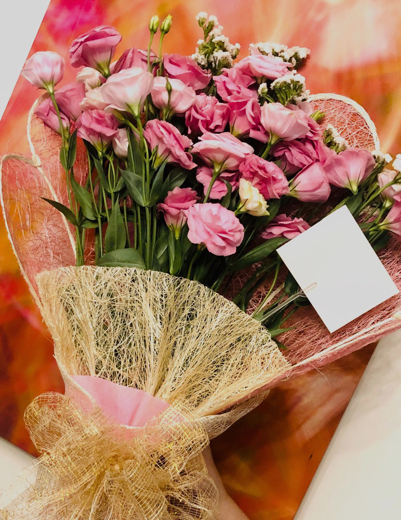 Bouquet of 10-stems imported lisianthus