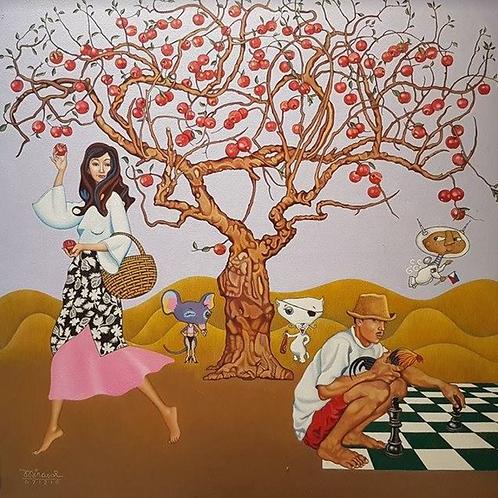 """Big Apple Dream"" by Arnaldo Mirasol"