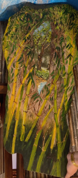 The Yellow Bamboo lookout