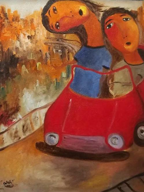 """Kotse Series"" by Jake Catah"