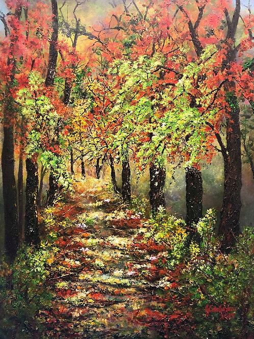 """Autumn Splendor"" by Janet de Grano"