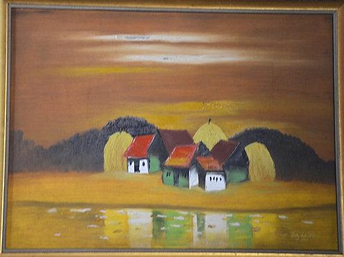 """Hanoi Houses Series"" by Truong Tuan Kiet"