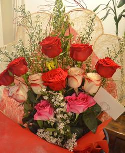 Bouquet of Ecuadorian roses