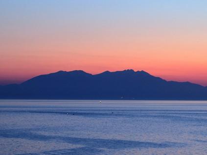 Semaine 32 : vacances en Chalcidie et en route pour la Macédoine