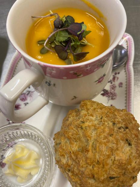 Soup & Savory Scone