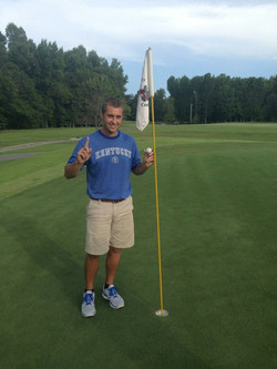 Cameron Brown Hole in One