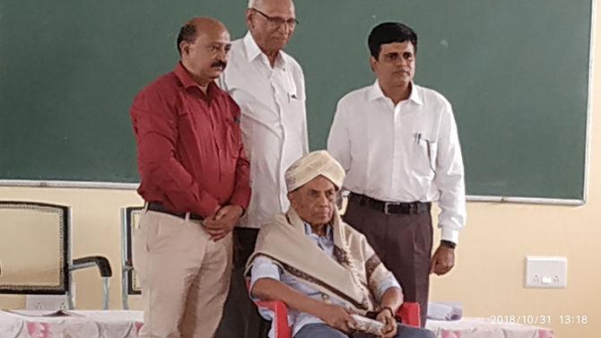 Secretary, Founder,Ex-Pricipal G.seetharam