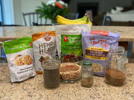 EAT SMARTER CARBS:  Vitality Teff Oatmeal