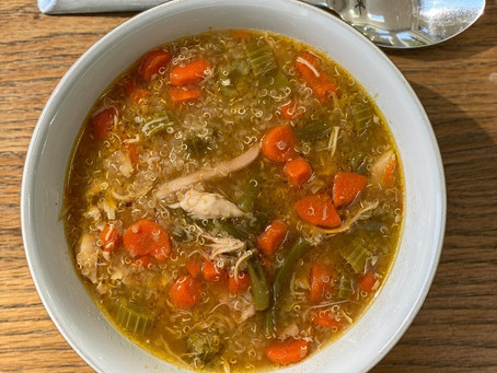Vitality Chicken Quinoa Soup