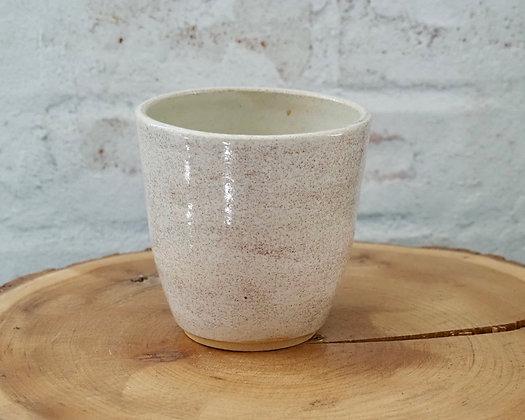 Oatmeal Low Vase