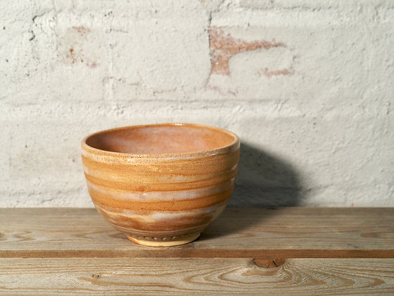 Carved Snack Bowl