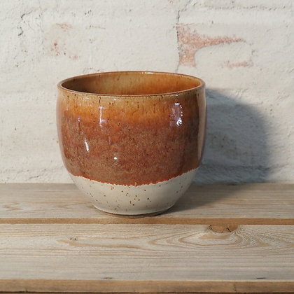 Speckled Clay, Red Brown Planter