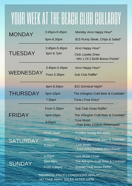 Copy of Oct - Your Week At The Beach Clu