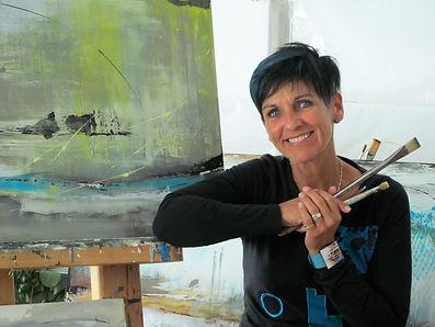 Céline Martel, artiste peintre