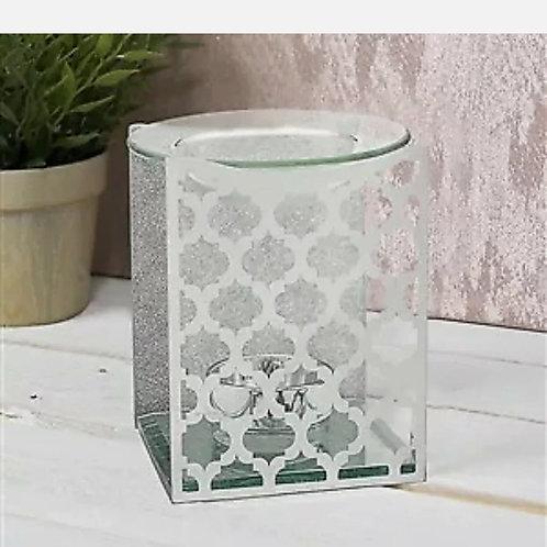 Moroccan Style Glass Tealight Burner
