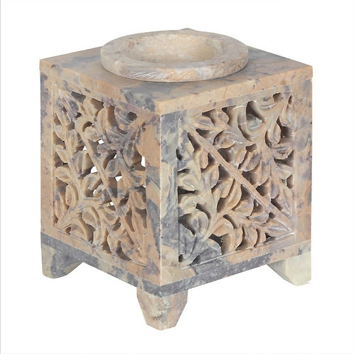 Moroccon and Arch Soapstone Burner