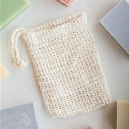 100% Rami Soap Bag