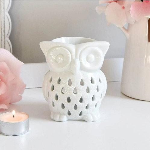 White 'Owl' Burner