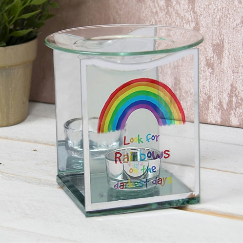 Rainbow Glass Burner