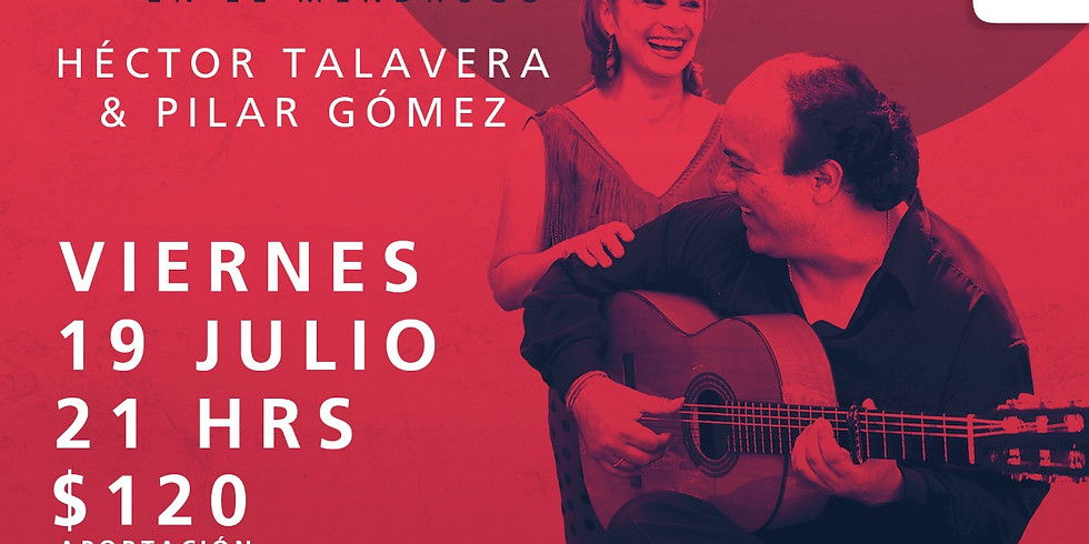 Flamenco en el Mendrugo   Héctor Talavera y Pilar Gómez