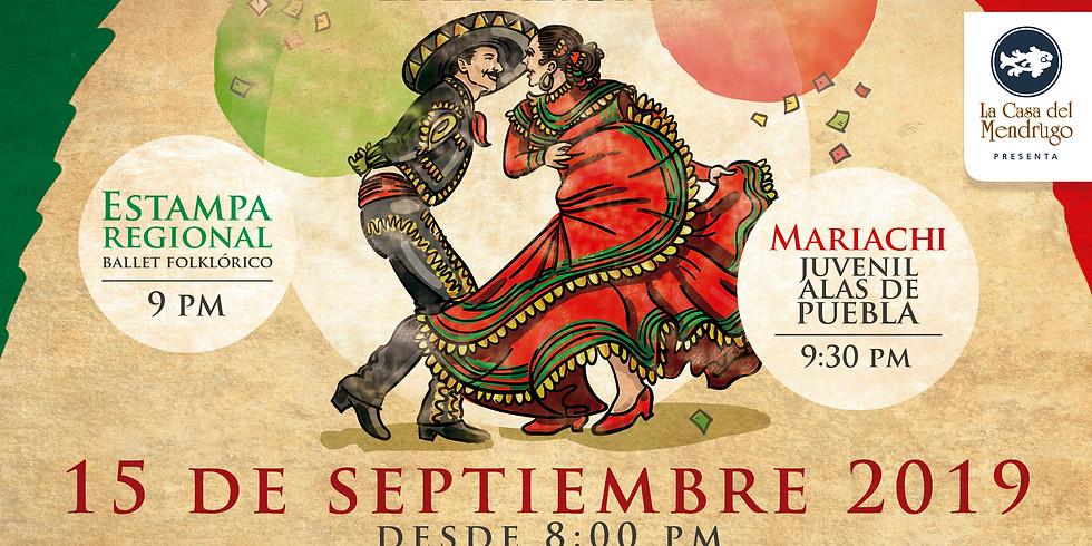 Noche Mexicana en el Mendrugo