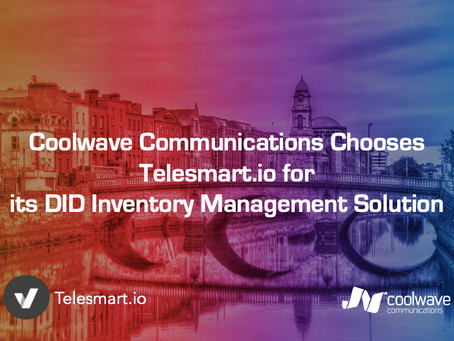 Coolwave Communications Chooses Telesmart.io for its DID Inventory Management Solution