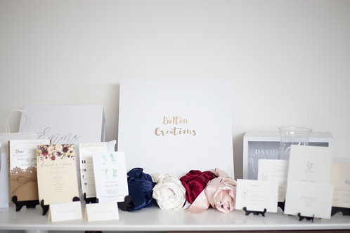 The Wedding Planner Package