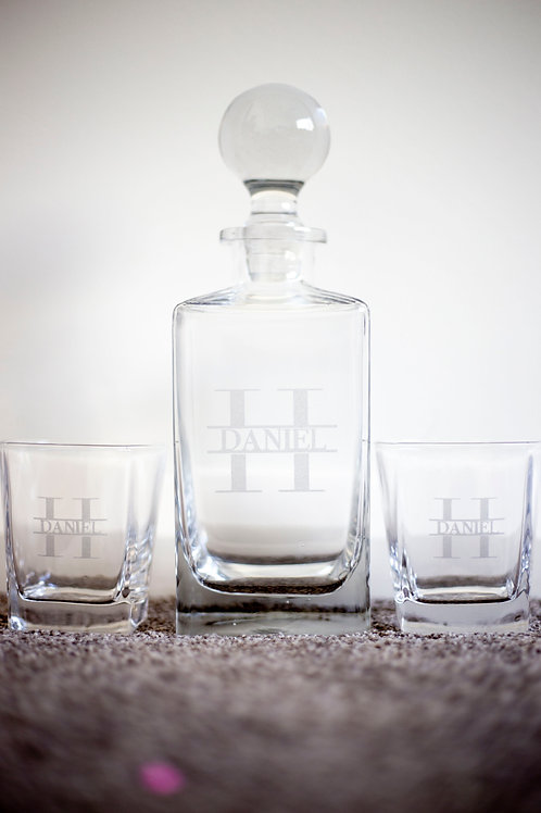 Personalised Decanter Set