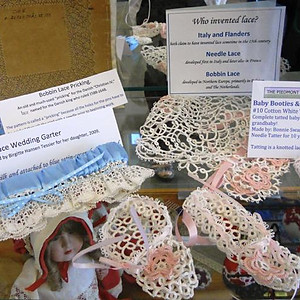 Lace Display at Lord Fairfax Community College