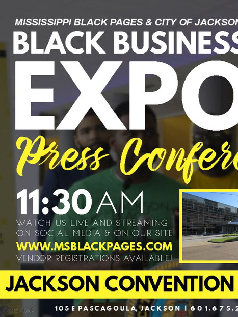 6/15 MS Black Busines Expo - Press Conference