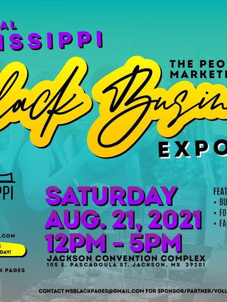 8/21 - Mississippi Black Business Expo