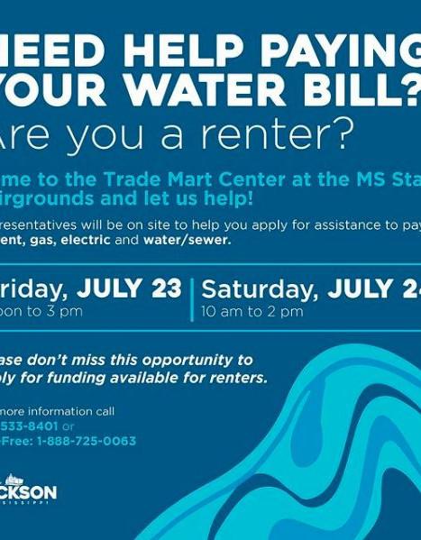 water bill help