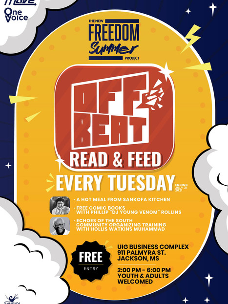 Tuesdays in July - Offbeat Read & Feed