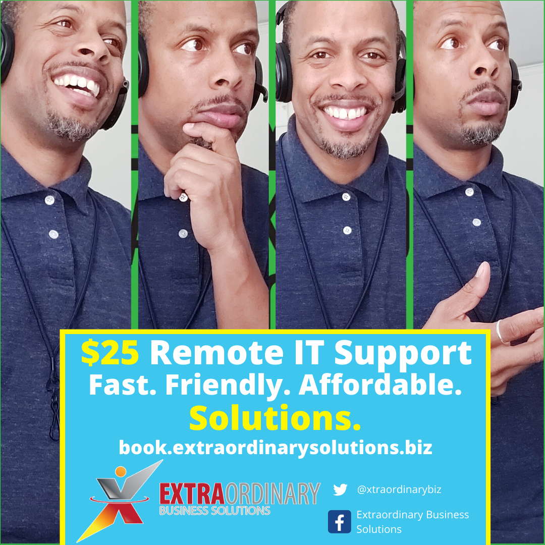 Remote IT Services - Extraordinary Business Solutions