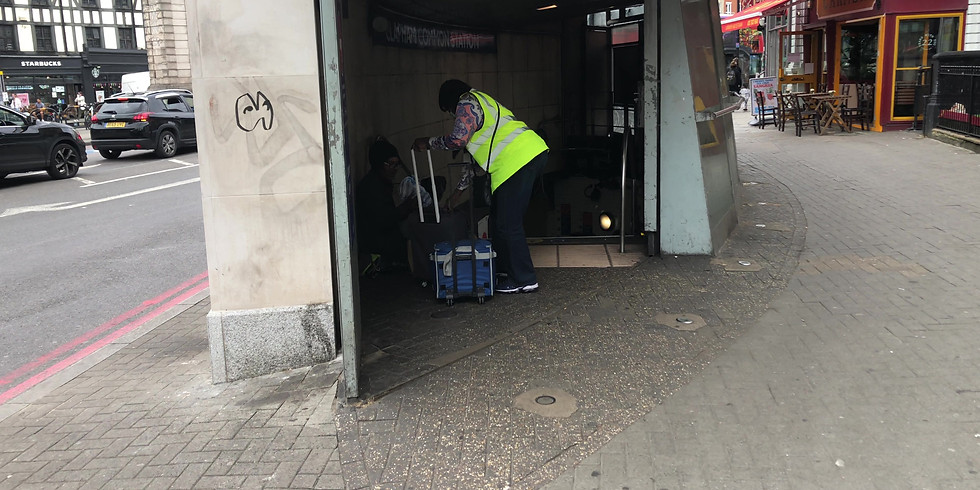 Homeless Outreach - Brixton & Clapham