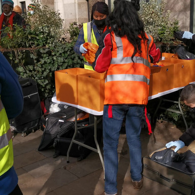 Pandemic Homeless Outreach