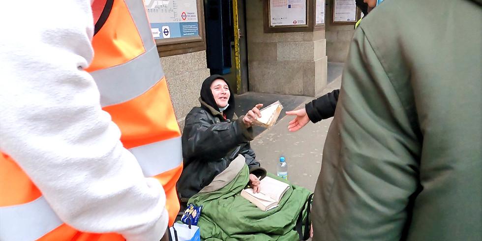 Homeless Outreach - London Bridge