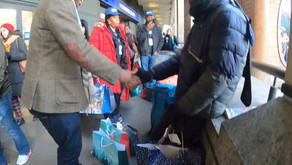 Britain's Homeless Epidemic: Christmas with Victims of Homelessness at Charing Cross London 2