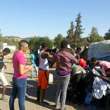 Helping Refugees In Morocco